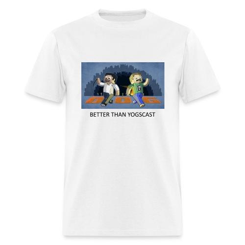 BETTER THAN YOGSCAST - White Standard Weight - Men's T-Shirt