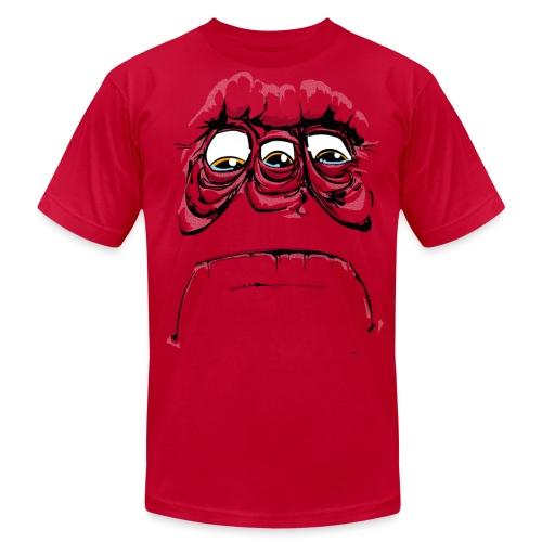 SadFace Three - Men's Jersey T-Shirt
