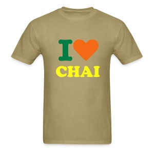 I HEART CHAI - Men's T-Shirt
