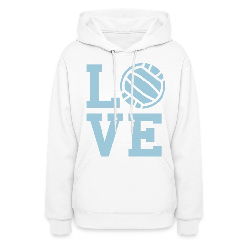 I ♥ Volleyball - Women's Hoodie