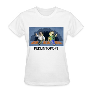 PEKLINTOPOP! - White Standard Weight Womens - Women's T-Shirt