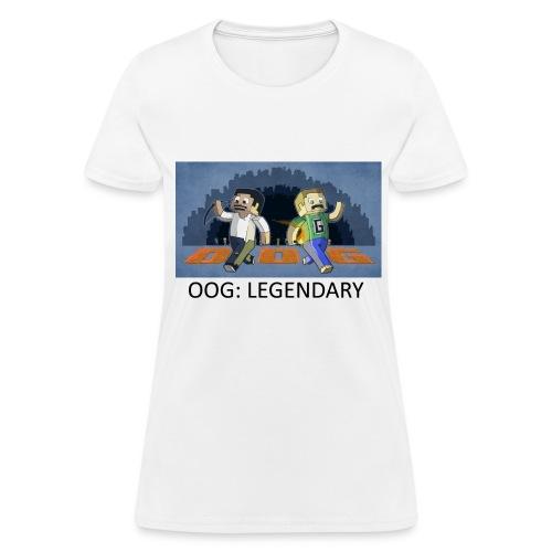 LEGENDARY! - White Standard Weight Womens - Women's T-Shirt