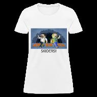 Women's T-Shirts ~ Women's T-Shirt ~ SKIDERS! - White Standard Weight Womens