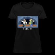 Women's T-Shirts ~ Women's T-Shirt ~ SKIDERS! - Black Standard Weight Womens