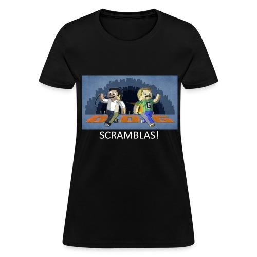 SCRAMBLAS! - Black Standard Weight Womens - Women's T-Shirt