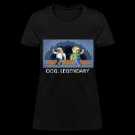 Women's T-Shirts ~ Women's T-Shirt ~ LEGENDARY! - Black Standard Weight Womens