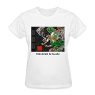 Women's T-Shirts ~ Women's T-Shirt ~ BdoubleO & Guude - Anime White Standard Weight Womens