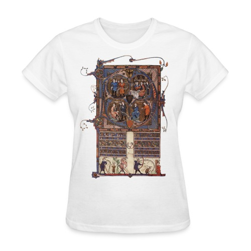Tickhill Psalter, 14th Century - Women's T-Shirt