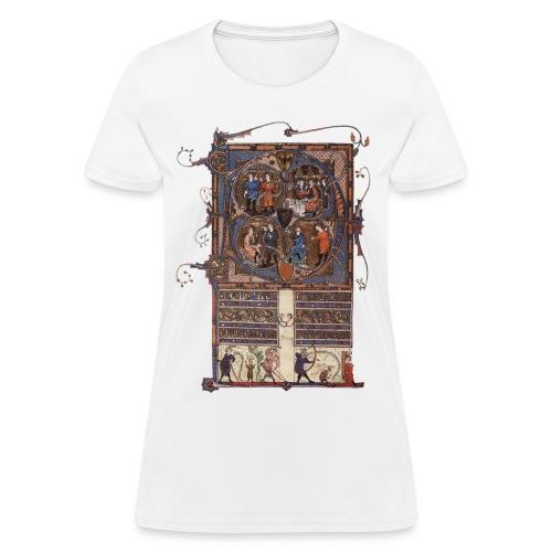 Tickhill Psalter, 14th Century - Women's T-Shirt