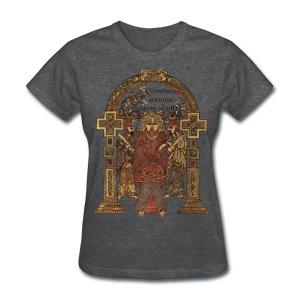 Book Of Kells, Arrest of Jesus; 8th Century - Women's T-Shirt