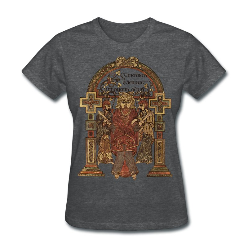 Book Of Kells, Arrest of Jesus; 8th Century - Women's T-Shirt