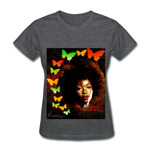 Lady's NATURAL BEAUTY GRAPHIC-TEE - Women's T-Shirt