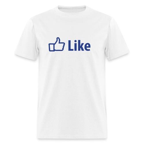 Facebook like tee - Men's T-Shirt