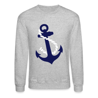 Anchor with Rope Long Sleeve Shirts