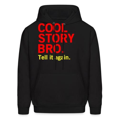 Men Cool Story Bro Sweatshirt - Men's Hoodie