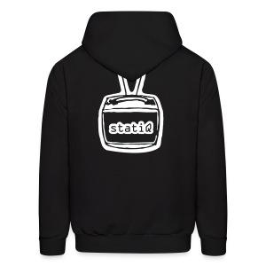 statiQ/TV head pullover hoodie - Men's Hoodie