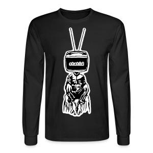 polydactyl/statiQ.org long sleeve - Men's Long Sleeve T-Shirt