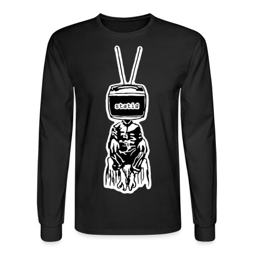 polydactyl/statiQ.org long sleeve - Men's Long Sleeve T-Shirt