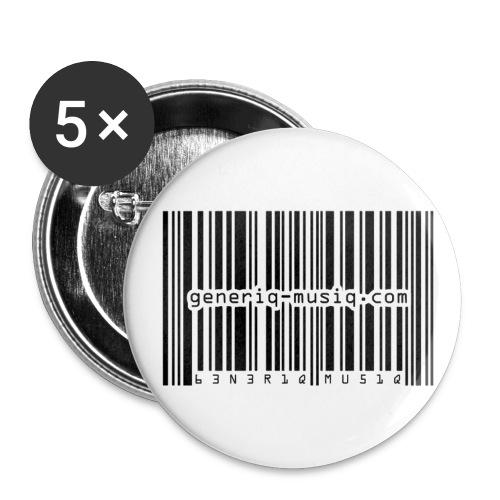 generiq-musiq buttons - Small Buttons