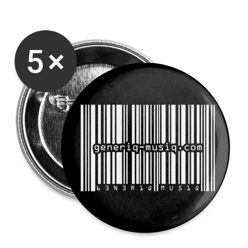 generiq-musiq inverted buttons - Small Buttons