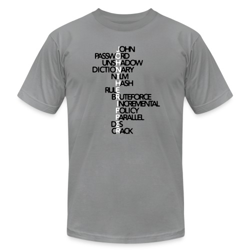 JtR Crossword ($10 Donation) - Men's Jersey T-Shirt