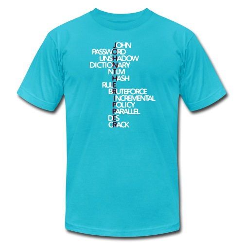 JtR Crossword ($10 Donation) - Men's  Jersey T-Shirt