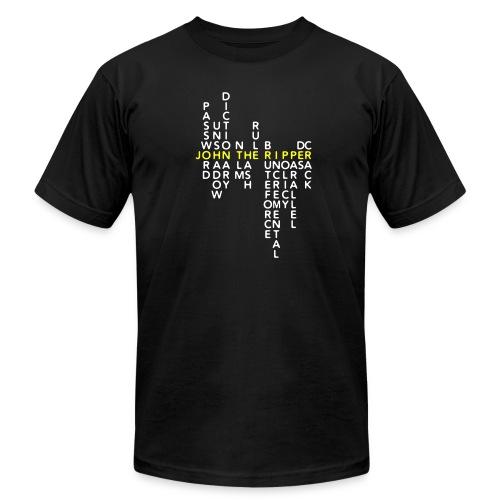 JtR Crossword II ($10 Donation) - Men's Jersey T-Shirt