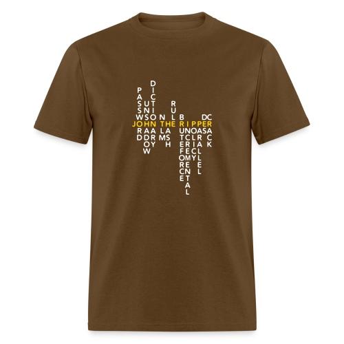 JtR Crossword II ($10 Donation) - Men's T-Shirt