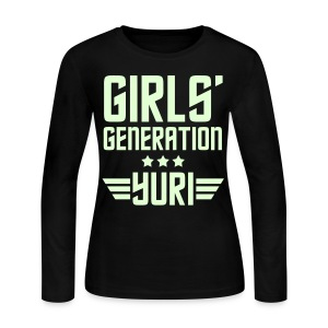[SNSD] Genie Yuri - Women's Long Sleeve Jersey T-Shirt