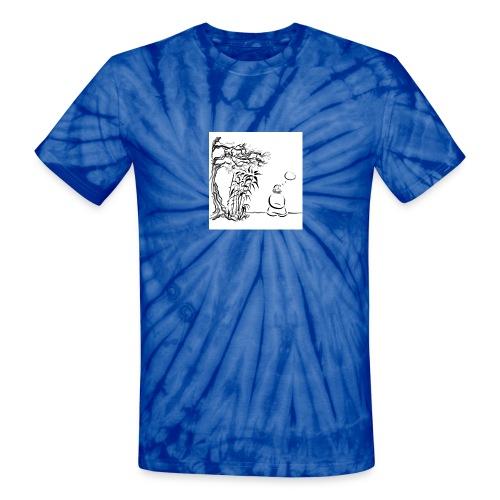Think Mu  Men's Tie Dye - Unisex Tie Dye T-Shirt