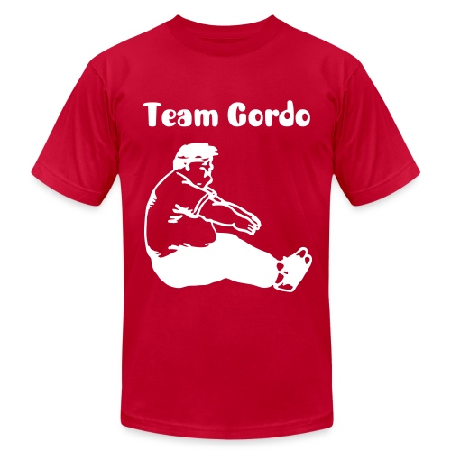 Team Gordo by @davemora - Men's T-Shirt by American Apparel