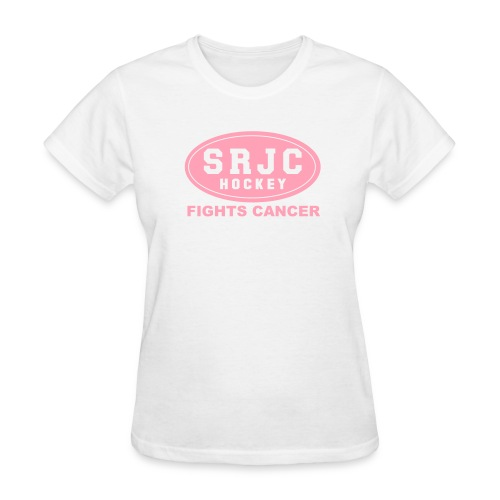 Women's SRJC Hockey Fights Cancer T-shirt - Women's T-Shirt