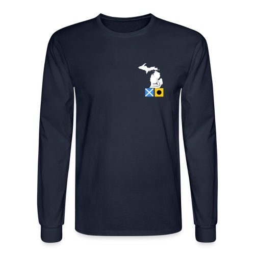 MI/Lake Charlevoix - Men's Long Sleeve T-Shirt