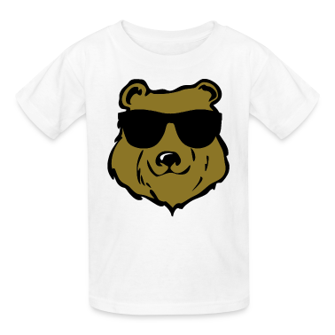 cool bear Kids' Shirts