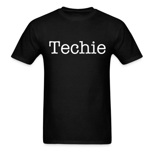 Techie=GOD - Men's T-Shirt