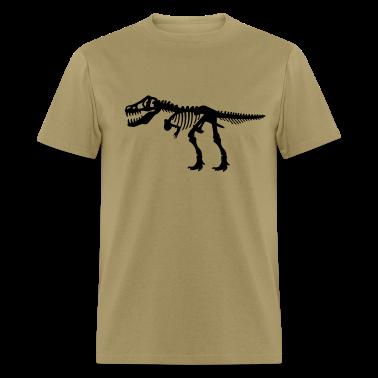 Tyrannosaurus Rex T.Rex Dinosaur Skeleton T-Shirts