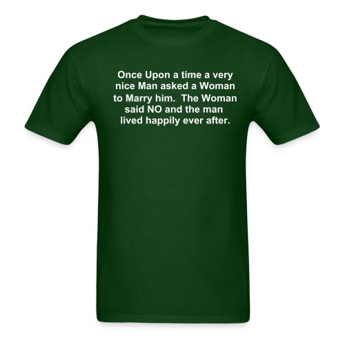Happily Ever After - Men's T-Shirt