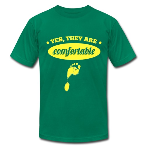 Yes, They Are Comfortable - Men's Fine Jersey T-Shirt