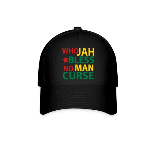 Who Jah Bless No Man Curse - Baseball Cap