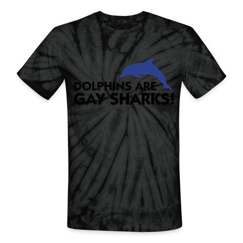 Gay Sharks - Unisex Tie Dye T-Shirt