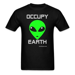 Occupy Earth 1 sided T-Shirt - Men's T-Shirt
