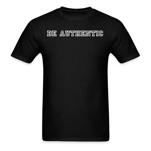 Authenticity - Men's T-Shirt
