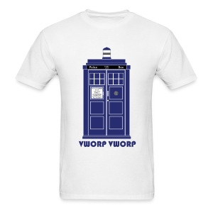 TARDIS (Vworp Vworp) - Men's T-Shirt