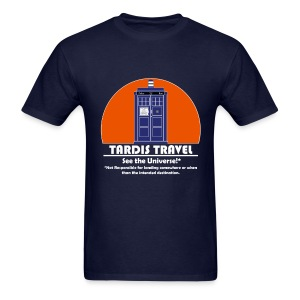 TARDIS Travel - Men's T-Shirt