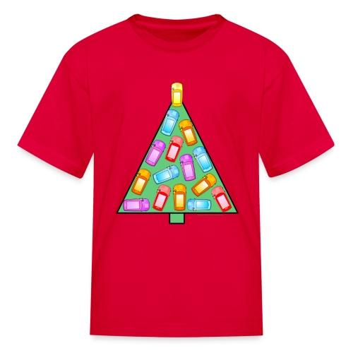 GPS Christmas Tree - Kids' T-Shirt