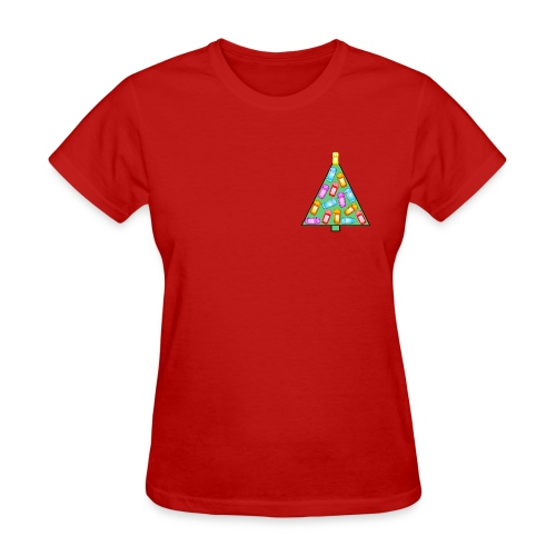 GPS Christmas Tree - Women's T-Shirt