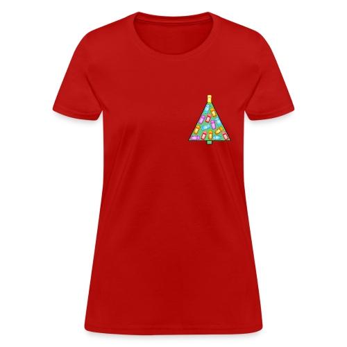 GPS Christmas Tree - Women's T-Shirt
