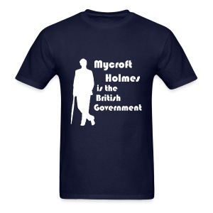 Mycroft Holmes, British Government - Men's T-Shirt