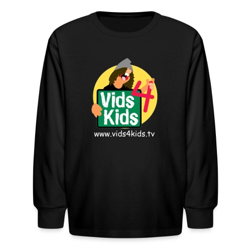 Vids4Kids.tv T-Shirt - Kids' Long Sleeve T-Shirt