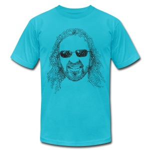 Jorge Cervantes (American Apparel) - Men's Fine Jersey T-Shirt
